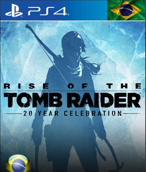 Rise Of The Tomb Raider Ps4 Jogo Original 1 Vitalicio