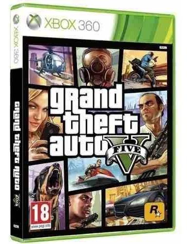 Gta V Xbox 360 Mídia Física Lacrado