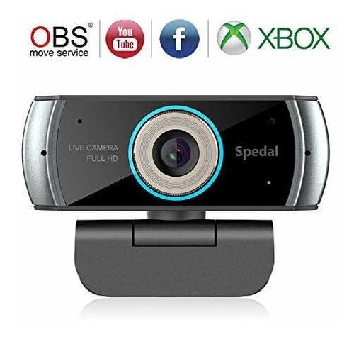 Spedal Full Hd Webcam 1536p, Camara Web Con Transmision En V
