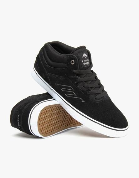 Zapatillas Emerica The Westgate Mid Vulc Black/white