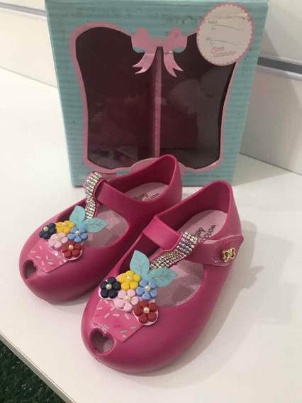 Sapatilha World Colors Estilo Melissa Tam 15/16/19/20