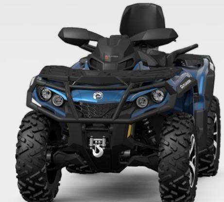 Outlander 1000 Max Limited 2021 Can Am Quadriciclo