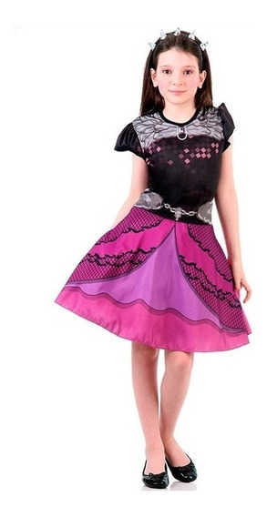 Fantasia Ever After High / Raven Queen Infantil Std Original