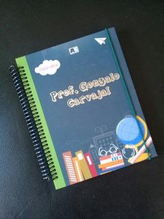 Agenda Planificador Docente Personalizada Escolar Profesor