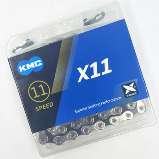 Corrente Kmc X11 11v Mtb Speed 118 Links - Novo Modelo