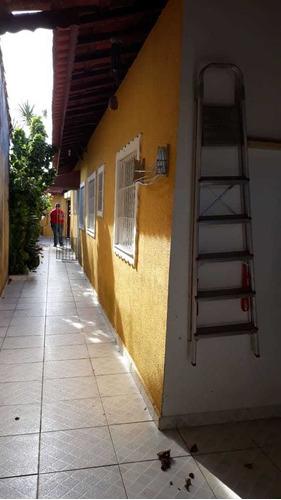 Casa Na Jardim Tropical Com Churrasqueira Em Itanhaém Ca380