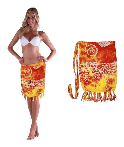 Pareo Corto Batik Varios Colores