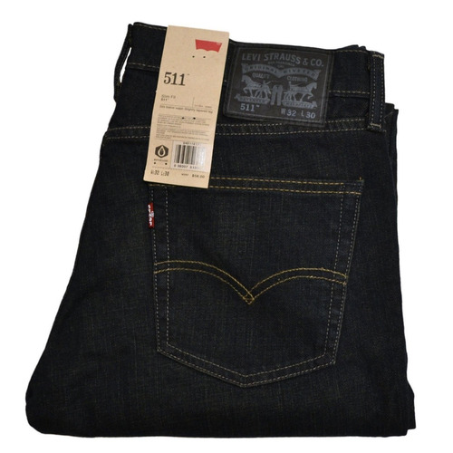 Pantalon Levis 511 Skinny Jeans Slim Fit Para Hombre Jean Mercado Libre