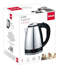 Rca Tetera Eléctrica Acero Inoxidable, Cocina, Rc-180gb01