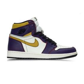 Tenis Nike Air Jordan 1 Sb High La To Chicago Kobe Lebron