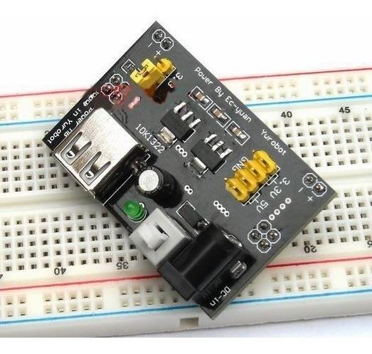 Protoboard Fonte 3,3v 5,0v Arduino Avr Arm - Fr $15 - C8