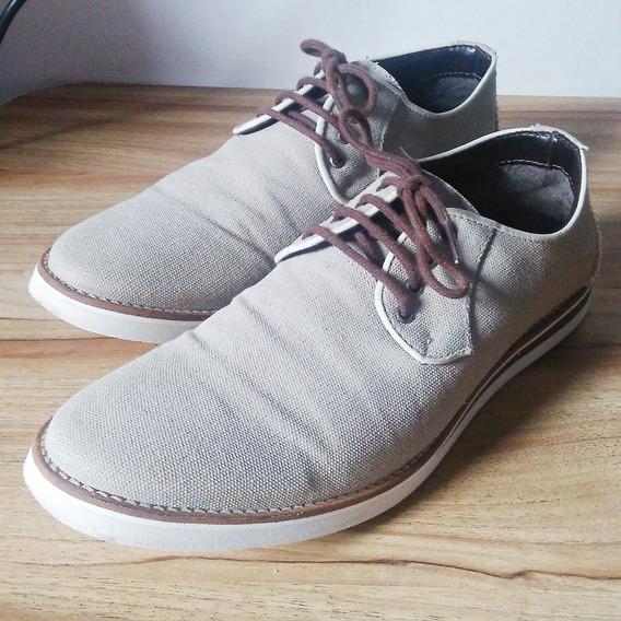 Sapato Satinato Genuine 39 Bege