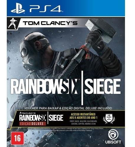Jogo Play4 Rainbow Six Siege - Lacrado - Game Ps4