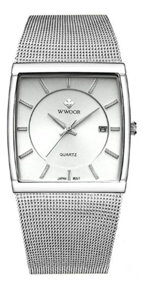 Relógio Pulso Original Luxo Unissex Wwoor