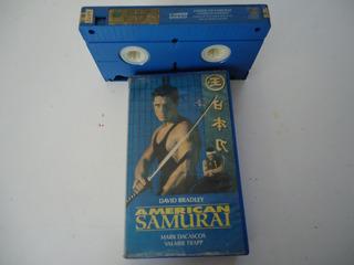 Fita Vhs Filme ( American Samurai )