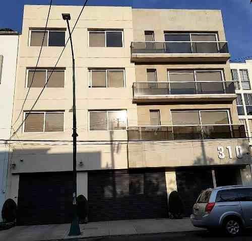 Venta Departamento, Col Del Valle, Edificio De 3 Niveles,