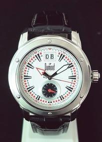 Relógio Masculino Dumont Edição Especial Sn30020b Dual Time