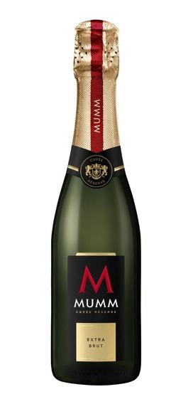 Vino Espumante Mumm Cuvee Reserve Extra Brut Botella 375 Ml