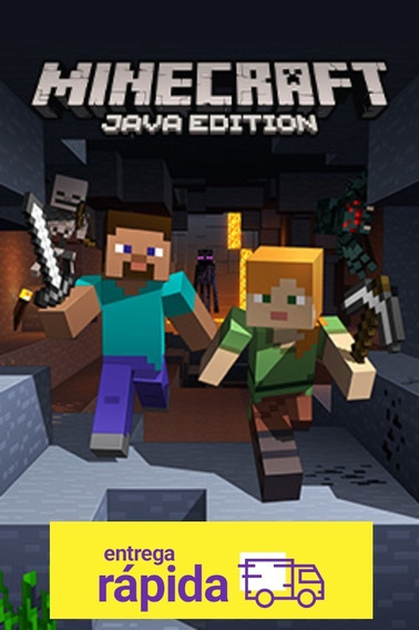 Key Minecraft Original Java Edition - Mojang 100% Original