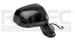 Espejo Honda Fit 2006-2007-2008 Electrico Negro