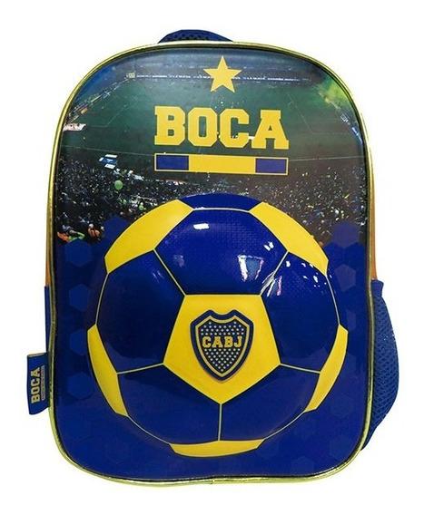 Boca Jr Mochila Espalda 12p Bo064