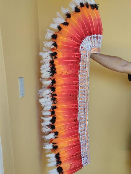 Cocar Indígena Grande Americano