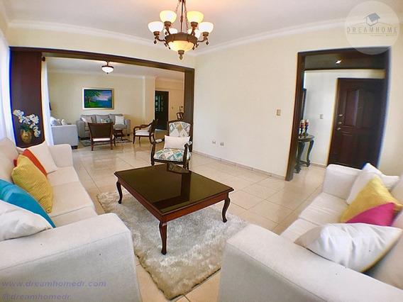 Piantini, Exquisito, Confortable Y Céntrico Apartamento 2320