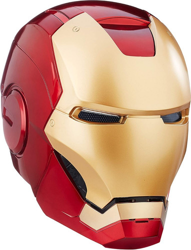 Iron Man Casco Electronico Luz Sonido Marvel Legends B7435