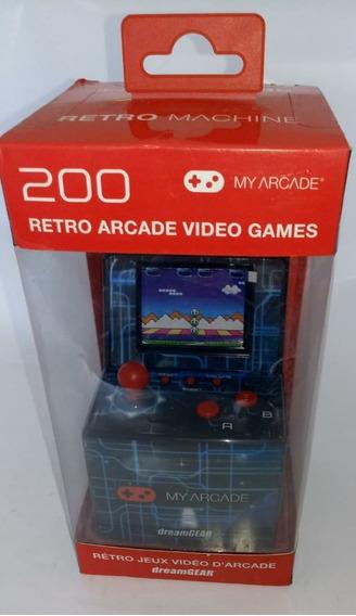 Retro Arcade Video Game Console Dreamgear Machine 200 Jogos
