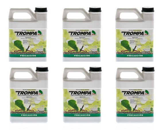 Trompa Control Para Hormiga Arriera Jardín 454 Grs(6 Botes)