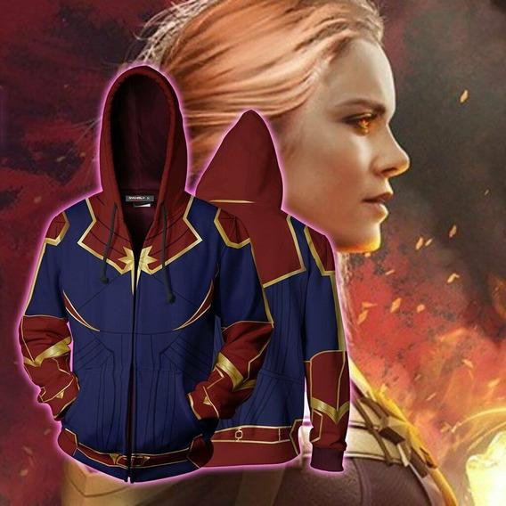 Casaco Capitão Marvel Os Vingadores 4