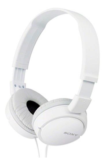 Fone De Ouvido Sony Zx110 Headphone P2 Profissional Branco
