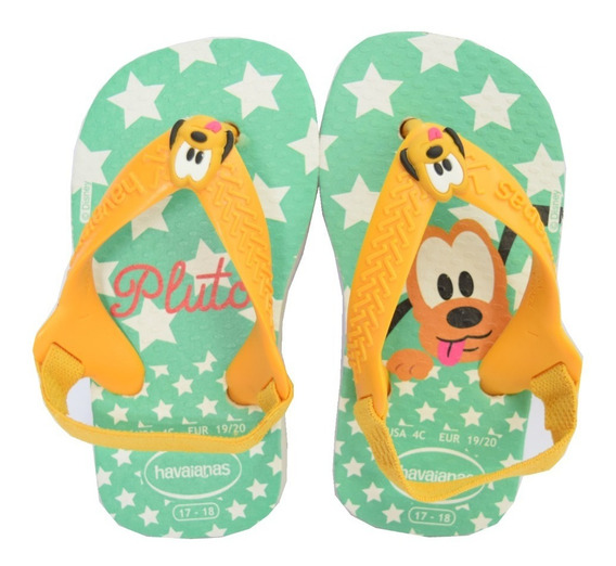 Ojotas Havaianas Baby New Disney Classic Pluto
