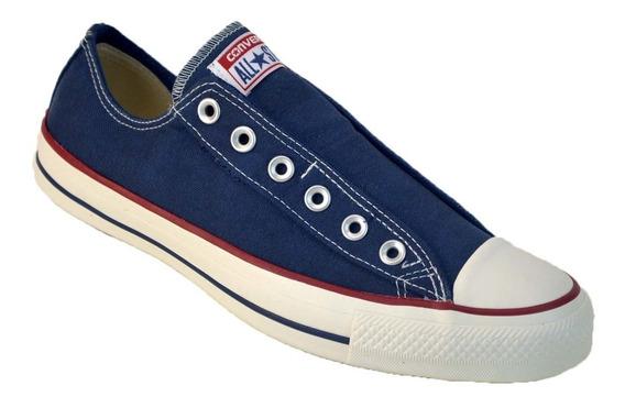 Zapatilla Converse All Star Slip Sin Cordon Original Azul O