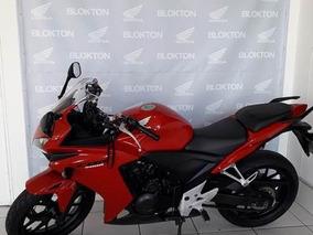 Honda Cbr 500 500r Std 2014 Vermelha Gasolina