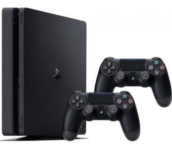 Console / Sony / Playstation 4 Slim / 500gb / 2 Controles