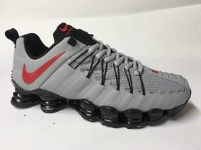 86dfe3ae6b5 Nike 12 Molas Cinza - Tênis no Mercado Livre Brasil
