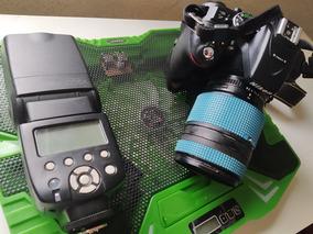 Camera Nikon D5300 Com Flash