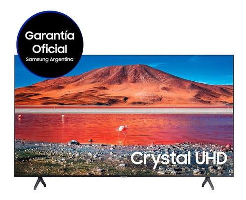 Imagen 1 de 5 de Televisor Samsung Smart Tv 55  Crystal Uhd 4k Tv Tu7000