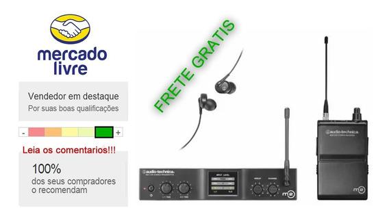 Monitor Sem Fio Audio-technica In-ear - M2