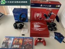 Ps4 Pro 1tb Edição Limitada Spider Man