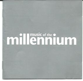 Cd Duplo - Music Of The Millennium Rock Pop Internacional