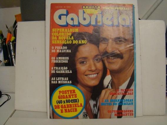 Revista Contigo - Edição Esp. Gabriela - N. 183a - C/poster