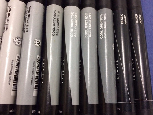 Prismacolor Premier Marcador 11 Cool Grey Design Sketch Mercado Livre