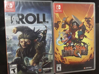 Has Been Heroes Y Troll And I Nintendo Switch Nuevos