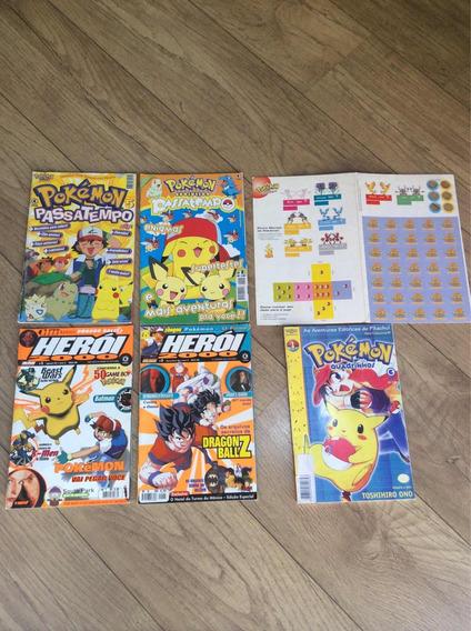 Lote De Revista Herói 2000 E Pokemon
