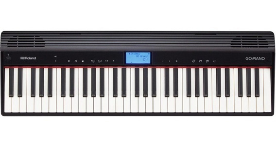Piano Digital Roland Go 61 Com 61 Teclas Bluetooth