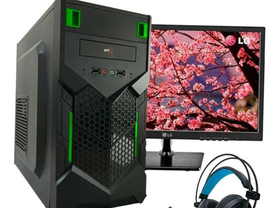 Pc Gamer Monitor Fortnite, Gtav, Cs- 8gb , R7 240 2gb, 500gb