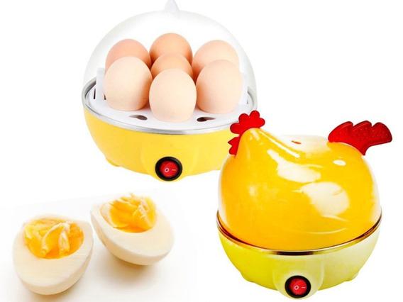 Cocinador Hervidor A Vapor De Huevos Gallina Electrica