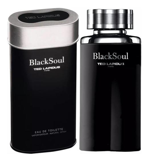 Perfume Black Soul Ted Lapidus 30ml Edt Original Selo Adipec